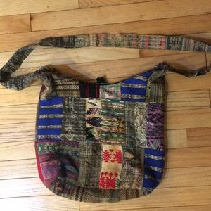 Handmade zippered bag